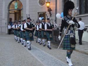 Dudelsackband Claymore Pipes  Drums 1.2.