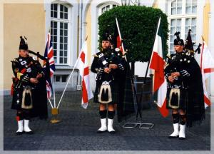 Dudelsackband Rhine Area Pipes  Drums 1.3.