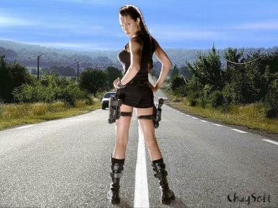 Lara Croft  Double Lookalike-1 (3)